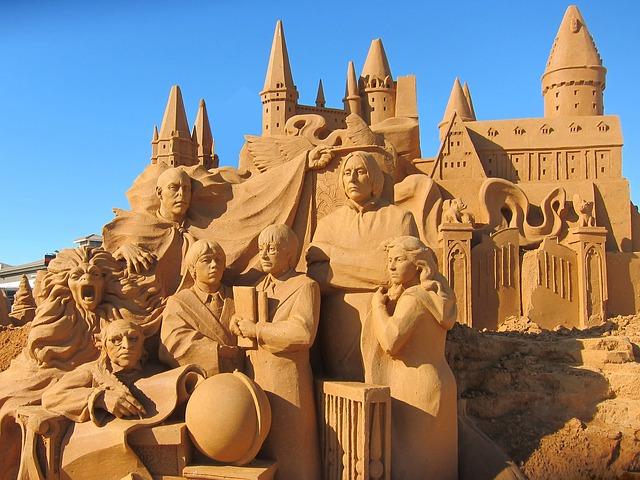 Sandskulpturen Blankenberge